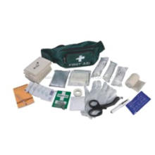 Portable medical First Aid kit in waist bag