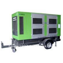 Conjunto de generador diesel movible 20kw-300kw 50Hz 1500RPM