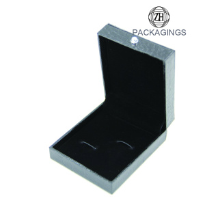 Black luxury cufflink packaging box