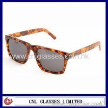 Tortoise Frame Sunglasses, Fashion Acetate Amber Sunglasses