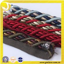 Traje Cuerda decorativa para la decoración del amortiguador Decoración del sofá Sala Sitio de la cama