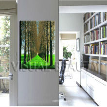Impresión moderna del cuadro del árbol en la lona para la decoración casera