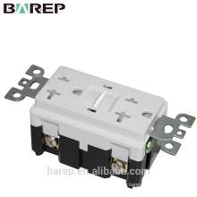GFCI Elektrische kundenspezifische Steckdose Duplex Steckdose
