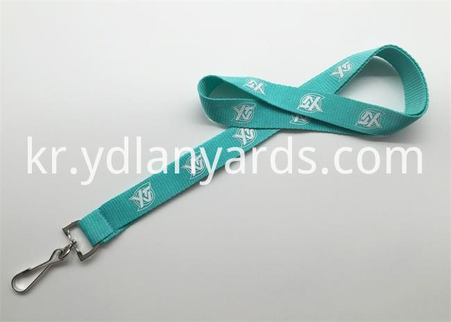 2.5cm Silk Screen Lanyards