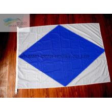 100% полиэстер Lozenge напечатаны флаги