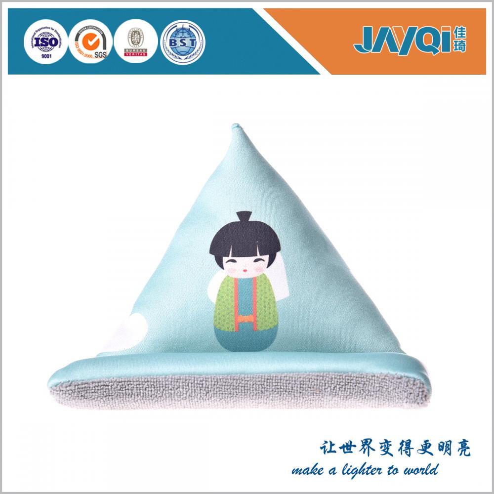 Microfiber Cell Phone Bean Bag Stand