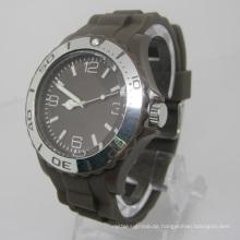 Neue Umweltschutz Japan Bewegung Kunststoff Mode Uhr Sj073-2