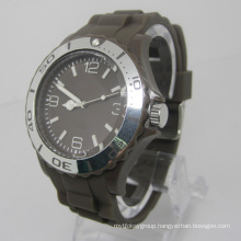 New Environmental Protection Japan Movement Plastic Fashion Watch Sj073-2