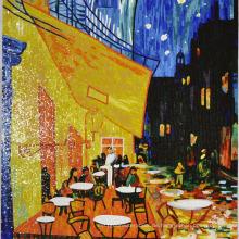 Mosaik Bild Hand geschnitten Fangao Man machte Bild