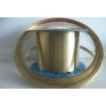 Arame de aço revestido em latão, fio de mangueira, fio de aço revestido de cobre