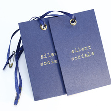 Custom cheap price cardboard hang tag printing product hang tag for jeans