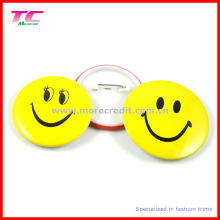 Custom Plastic Button Badge with Safety Pin