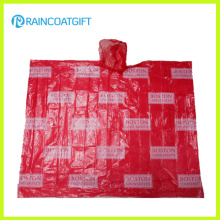 Рекламная печать для взрослых Allover PE Rain Poncho Rpe-003