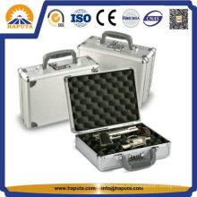 Alumínio com fechadura segura arma caso e caixa (HG-2001)