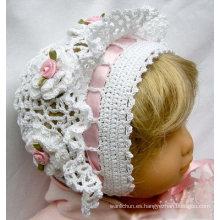 Ganchillo Baby Bonnet