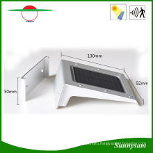 Green Outdoor Solar Lighting Pinhole Switch 20LED Solar Wall Light with PIR Motion Sensor