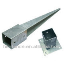 Hot Dipped Galvanized Post Anchor For Fence