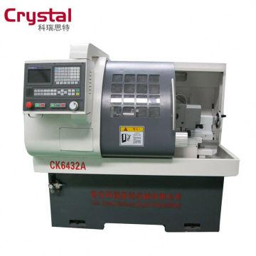 Machine de tour cnc pour le tournage d'acier inoxydable CK6432A