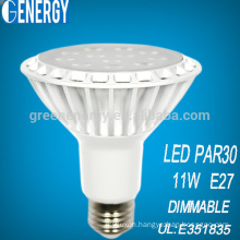 2014 top manufacturer aluminum dimmable 10w rgbw led par light with Energystar UL TUV approved