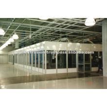 Aluminium Extrusion for Cleanrooms