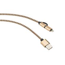 Manga de algodão para cabos A / V e cabos HDMI