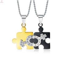 Forme el colgante del símbolo masculino y femenino, joyería pendiente masculina y femenina del padre