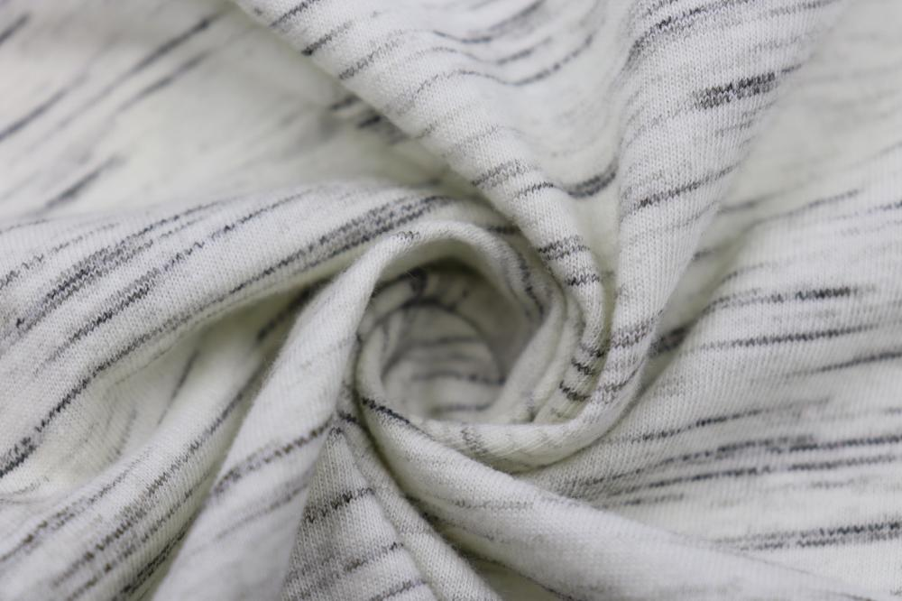 Paragraph Color Yarn Single Side Jersey Fabric