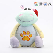 China manufacturers made plush baby toys with rattle and noisy cellofan