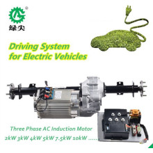 Montagem de acionamento de veículo elétrico de quatro rodas