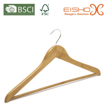 Percha de trajes de bambú para prendas de vestir (MB05-1)