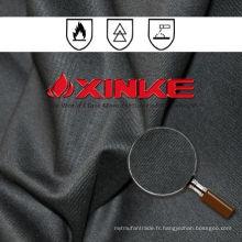 EN Standard 260Gsm Noir CVC fr fabric Pour les vêtements de l'industrie