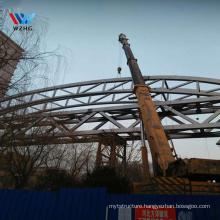 Factory direct supply steel structure cable suspension bridge temporary bridge