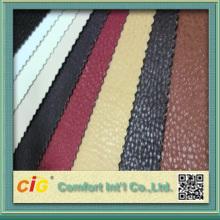 2016 kulit PVC perabot kulit semi-pu kulit sintetik kulit upholsteri
