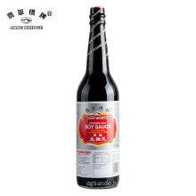 625 ml glass bottle kosher light soy sauce