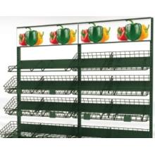 Полка для фруктов и овощей в торговом центре