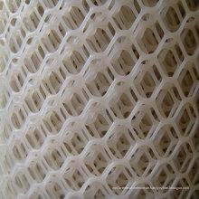 Weißes Kunststoff-Mesh oder Netting