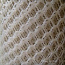 Maillage ou filet en plastique blanc