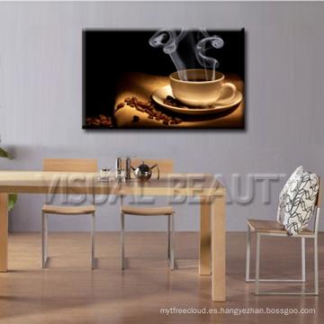 Fotos de café de impresión de lienzo en la pared