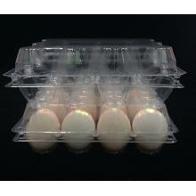 Caixa de embalagem do recipiente do ovo do PVC (bandeja plástica)