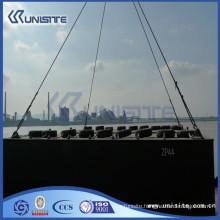 steel marine pontoon for dredging and marine construction (USA1-001)