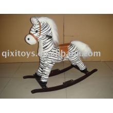 Plüsch Schaukelpferd (Zebra), Childern Tierreiter Spielzeug