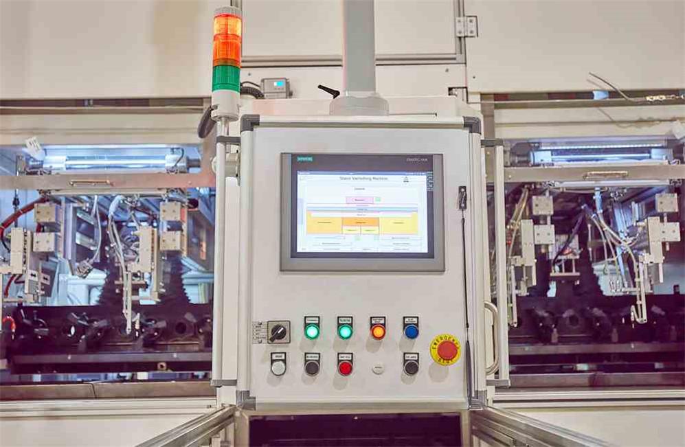 Stator Varnishing Machine HMI