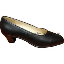 Zapatos militares de la oficina de la mujer