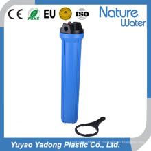 Filtro de água azul magro de 20 polegadas