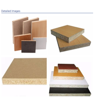 E0 E1 Melamine Faced Particle Board Pressing