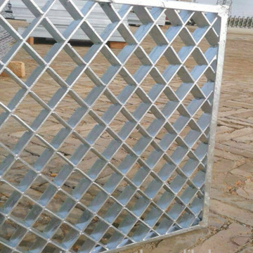 Tekan Kunci Carbon Steel Bar Grating
