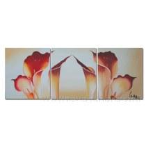 Pintura a óleo pintado à mão da lona na lona para a decoração (FL3-209)