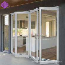 Buena puerta interior plegable de aluminio insonorizada.