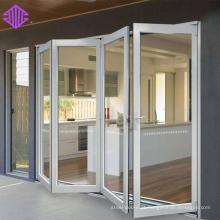 boa porta interior dobrável de alumínio à prova de som