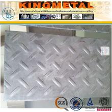 Plaque à carreaux en acier doux laminée à chaud A36 Ss400 6mm / 10mm d'épaisseur
